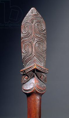 Taiaha Staff (wood)