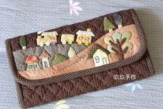 patchwork peněženka