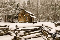 John Oliver Cabin in Cades Cove, Tennessee. By Deb Campbell.