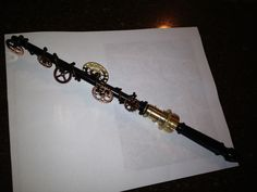Ginny's Steampunk Fairy Godmother's Wand 1