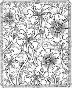 Flower coloring pages, mandala coloring, doodle coloring, free coloring . Adult Coloring Pages, Pattern Coloring Pages, Flower Coloring Pages, Printable Coloring Pages, Coloring Sheets, Coloring Books, Mandalas Painting, Mandalas Drawing, Zentangles