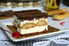 Sweets Recipes, My Recipes, Cake Recipes, Cooking Recipes, Ital Food, Romanian Desserts, Sweet Cookies, Cake Bars, Hungarian Recipes