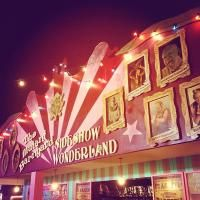 """London Wonderground at Southbank Centre. Open from 10 May - 29 September, their """"wonderful Speigeltent formed the centre of a marvellous playground of wonders and curiosities"""". Headline show - Cantina."""