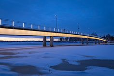 https://flic.kr/p/NWonfH | Pikisaarnsilta in City of Oulu | Photo: Henri Luoma