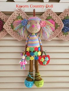 Chrochet, Beautiful Crochet, Amigurumi Doll, Crochet Projects, Christmas Ornaments, Knitting, Holiday Decor, Crafts, Inspiration