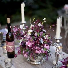 Parma Violet colour inspiration in these utterly romantic wedding mood boards. Such a pretty palette! Photo: Ali Harper