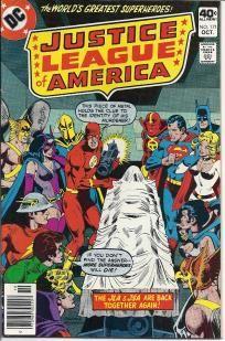 JUSTICE LEAGUE OF AMERICA VOL.1 #171 (DC COMICS 1979) *FREE SHIP* BRONZE AGE / DEATH OF MR. TERRIFIC