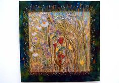 Textile art by Jackie Martin