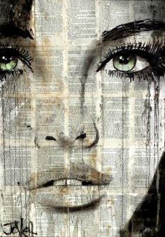 Loui Jover - Drawings for Sale - Loui Jover – Drawings for Sale Mesmerize da Loui Jover Newspaper Art, Arte Pop, Portrait Art, Portraits, Face Art, Graffiti Art, Collage Art, Painting & Drawing, Amazing Art