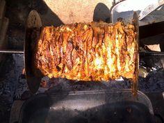 4 kg krkovice a 4 kg krůtích prsíček nakrájených na cca 1 cm plátky na motýlka (je možné obohatit třeba zvěřinou), maso jemně rozklepat a každý...