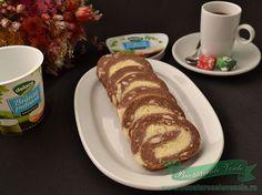 rulada-biscuiti-branza French Toast, Rolls, Sweets, Cookies, Breakfast, Food, Crack Crackers, Morning Coffee, Gummi Candy