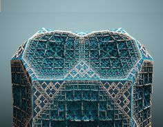 "Fabergé Fractals – tom beddard ""Subblue"" Also known as Subblue,..."