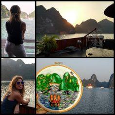 Bordado Bahía de Halong