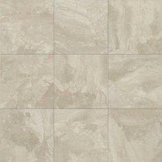Bath #3 Main Floor Tile - Daltile Marble Falls MA41 Crystal Sands 12x12