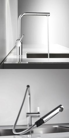 Modern Kitchen Taps grohe red duo, normal tap in combination with boiling water. no