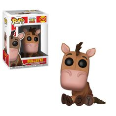From Toy Story, Bullseye, as a stylized POP vinyl from Funko! Figure stands 3 inches and comes in a window display box. Check out the other toy story figures from Funko! Collect them all! Funko Pop Dolls, Funko Toys, Funko Pop Figures, Pop Vinyl Figures, Bobs Burgers, Mega Man, Disney Merch, Pop Disney, Disney Pixar