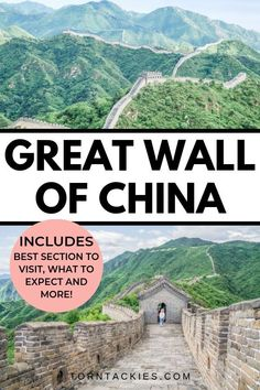 Traveling to Beijing, China? Make sure you hike the Great Wall of China. This travel guide details the best sections of the wall to visit including Jinshanling, Badaling, Mutianyu, Simatai and Jiankou! china trip | travel to china | hiking the great wall | china travel destinations | china itinerary | china bucket list | jinshanling great wall | things to do in beijing | tips for the great wall of china | blog by Torn Tackies #beijingchina #amazingdestinations #greatwall #china #bucketlist