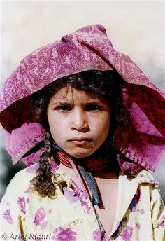 Africa | Sinai Bedouin Girl. Sinai Desert, Egypt |  © Ariel Nishri