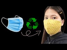 Project No. 2 mask recycling - YouTube Recycling, Reuse Recycle, Neoprene Face Mask, Easy Face Masks, Youtube, The Incredibles, Sewing, Crochet, Filter