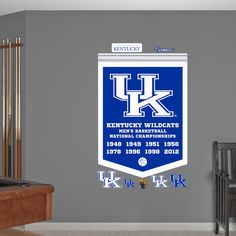 Kentucky Wildcats Mens Basketball National Champions Banner