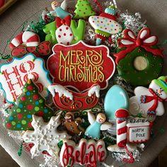 Christmas Cookies Packaging, Cookie Packaging, Christmas Cupcakes, Christmas Sweets, Cut Out Cookies, Holiday Cookies, Christmas Baking, Royal Icing Cookies, Sugar Cookies