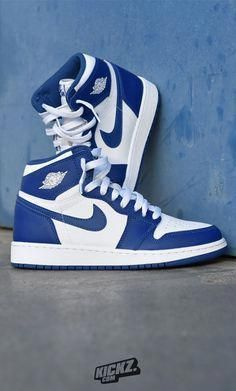 sports shoes 97070 e69bd The Jordan 1 Retro OG BG Storm Blue dropped in and is blowing your mind.