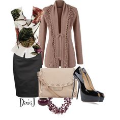 Office Look - Polyvore. Stunning...absolutely love this