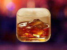Drink App Icon by kuldeep singh rathore