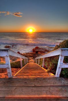 Absolutely Stairway to Sunset