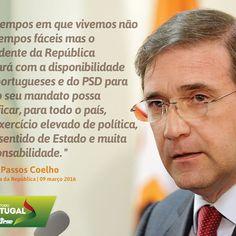 Pedro Passos Coelho, Presidente do PSD, na Tomada de Posse do Presidente da República #PSD #acimadetudoportugal