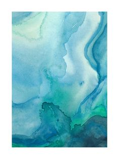 Under Water Art Print - Limited Edition by Chelsey Scott | Minted