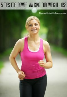 5 Tips for Power Walking for Weight Loss