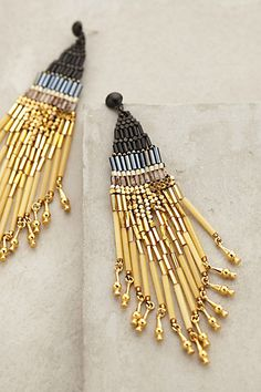 Ombre Chime Earrings #anthropologie