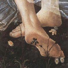 """Sandro Botticelli, Primavera Particolare """""""