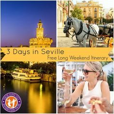3 Days in Seville Free Itinerary - Sevilla Spain -www.thesegypsyfeet.com/3-days-in-seville - Where to Stay, Where to Eat, What to Do, What to Read Before You Go - #Sevilla #España