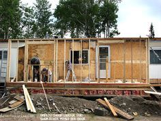 Mobile Home Additions Guide: Footers, Roofing, And Attachment Methods - Mobile Home Additions can be a great way to increase living space. Learn about the foundation, roof - Mobile Home Addition, Mobile Home Redo, New Mobile Homes, Mobile Home Repair, Mobile Home Makeovers, Single Wide Mobile Homes, Mobile Home Living, Kitchen Makeovers, Room Makeovers