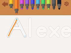 Wait, there's an app that teaches kids handwriting? via @CNET
