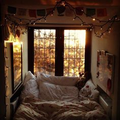 The perfect bed nook. the world would never see me again!