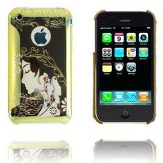 Jujitsu (Gull) iPhone Deksel for 3G/3GS