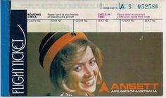 Ansett Airlines of Australia Flight Ticket