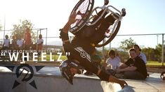 "Unit, one of the world's fastest growing action sports brands, has just released a six-minute mini-documentary on one of their star athletes, Aaron ""Wheelz"" Fotheringham.  Wheelz, 19, has obtained a cult following globally for his antics with the Nitro Circus Live Tour after successfully landing 40ft Backflips, Double Backflips and Front-flips in the past six months… in a wheelchair.  The Las Vegas teenager is one of the most inspirational athletes in the entire action-sports industry; he…"