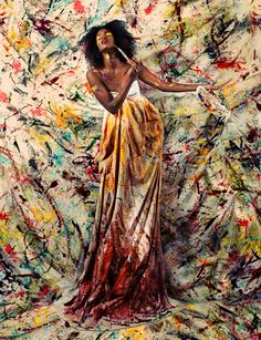 ...because I love when fashion and art have a little party! #art, #fashion