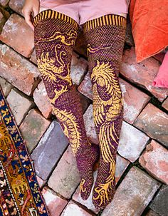 Hand Henna, Hand Tattoos, Ravelry, Socks, Knitting, Pattern, Loom Knit, Tricot, Breien