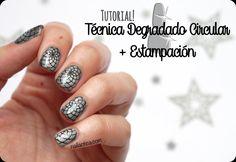 Tutorial | Degradado Circular + Stamping