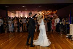L&J's First Dance captured by Andrea Laube
