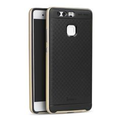 Köp IPAKY Hybrid Case for Huawei P9 gold/black online: http://www.phonelife.se/ipaky-hybrid-case-for-huawei-p9-gold-black