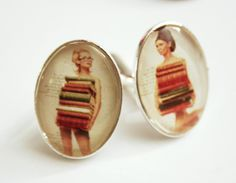 Cufflinks - Vintage Librarians Vintage Cufflinks, Librarians, American Made, Vintage Men, Book Worms, Special Gifts, Geek Stuff, Bibliophile, Trending Outfits