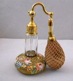 Vintage DeVilbiss Perfume Bottle Atomizer   eBay