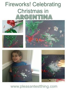 Fireworks at Christmas and other Christmas in Argentina celebrations