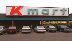 The Kmart store front at the old Waterloo Square shopping mall. Sweet Memories, Childhood Memories, Shopping Places, Shopping Mall, Kitchener Ontario, School Store, Nostalgic Images, Ol Days, Good Ole